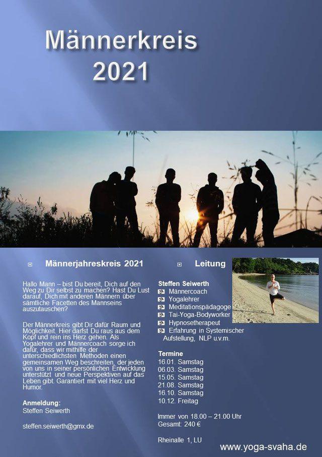 Männer Jahreskreis 2021 am Start